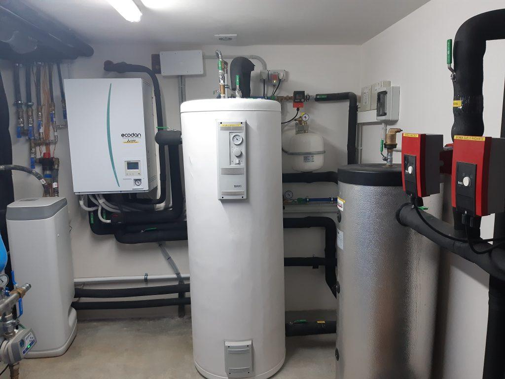 Calefacción y aerotermia menorca